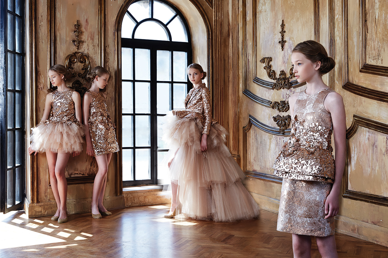 Mischka aoki the luxury couture house for children for Hot couture fashion